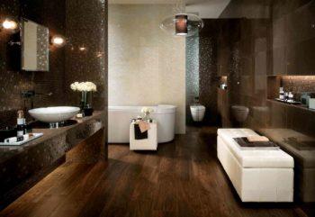 Напольная плитка в ванной комнате
