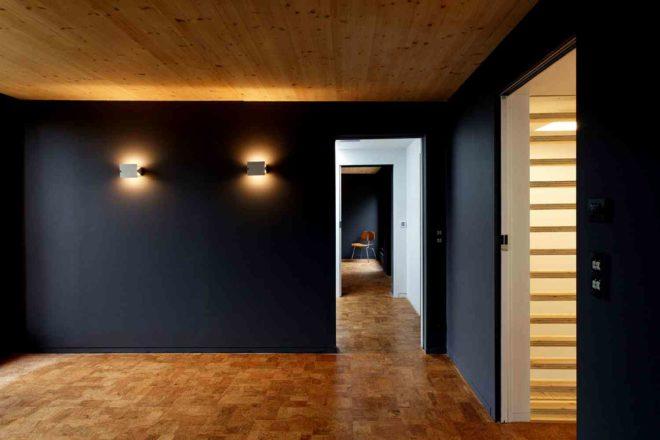 Оформление полов, потолка и стен