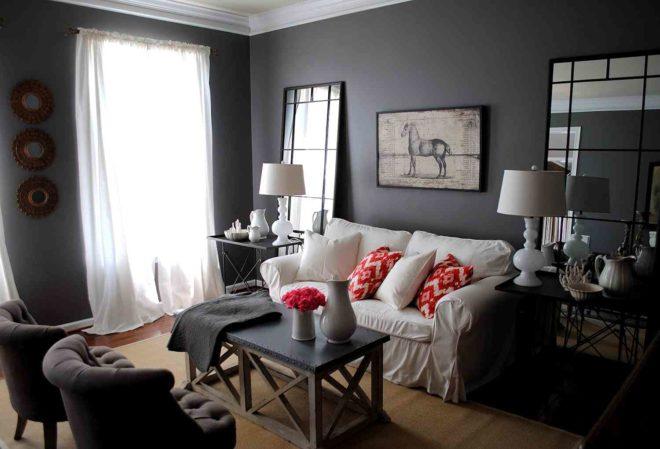 Оформляем дизайн в серый - строгий цвет