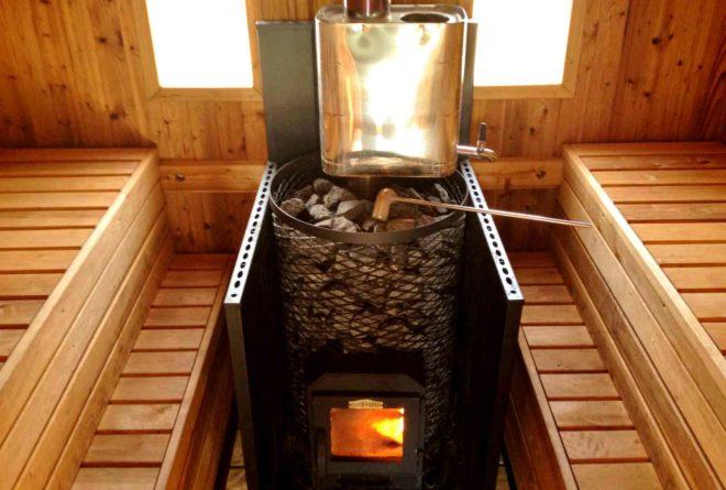 Особенности выбора дровянной печи для бани