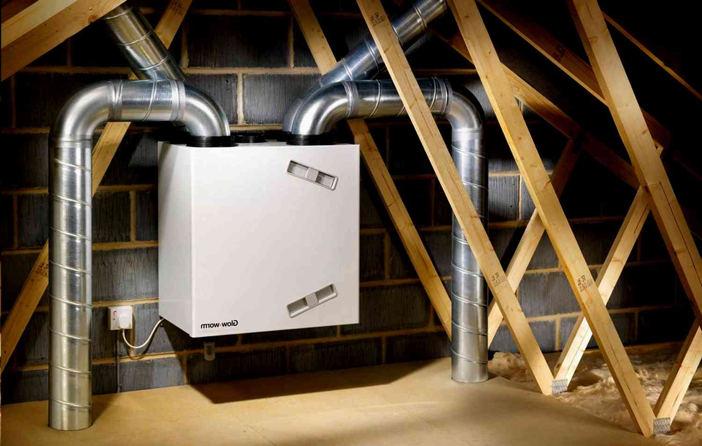 Выбор системы вентиляции в доме за городом