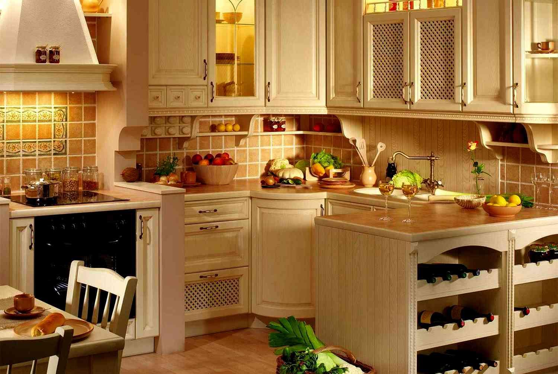 Немного про кухонную мебель