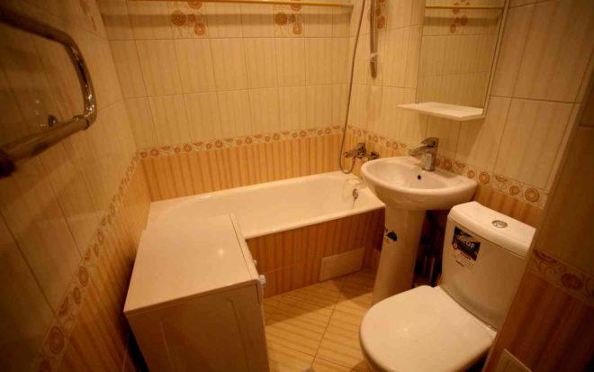 Ремонт ванной комнаты в сталинке