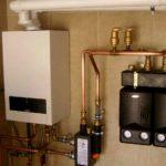 Типы газовых котлов для дома