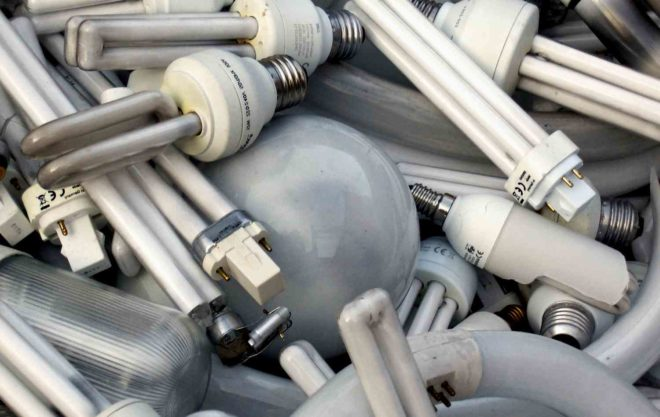 утилизации ртутьсодержащих ламп