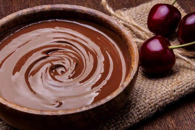 Немного о вкусном - шоколадный крем