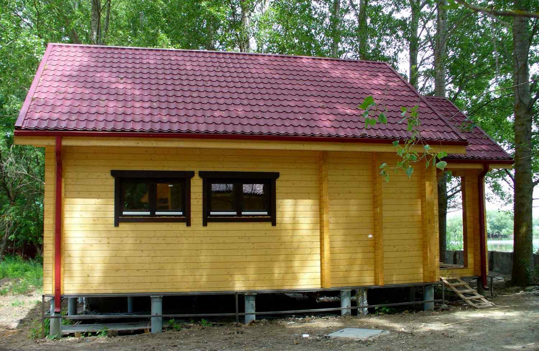 Осоновы строительства русской бани