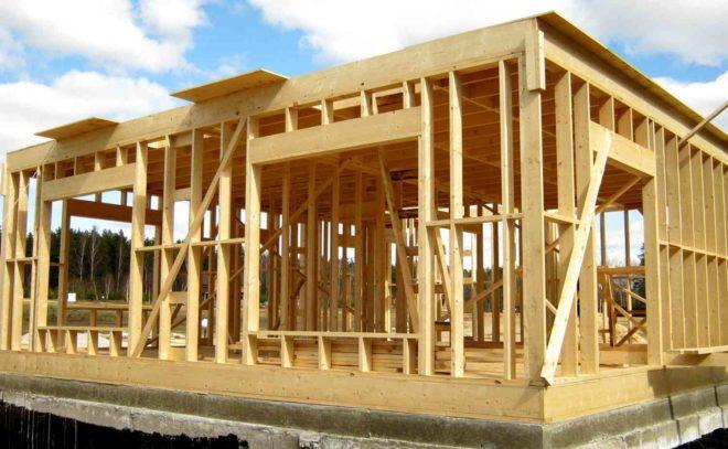 Достоинства каркасного строительства
