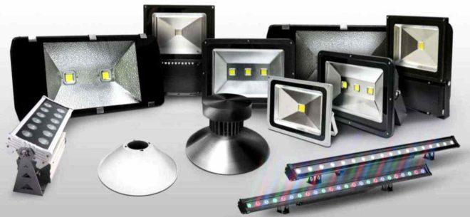 Особенности монтажа светодиодного прожектора