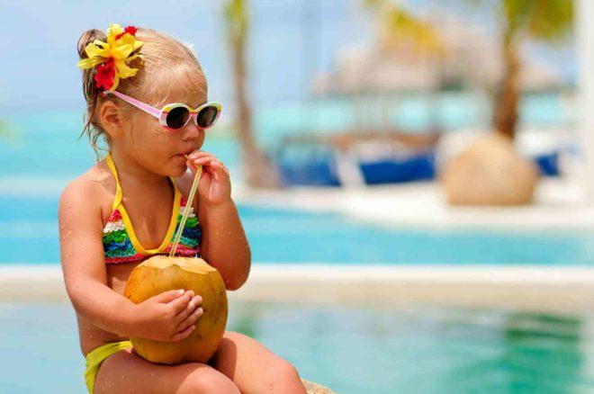 Покупка дизайнерского детского купальника