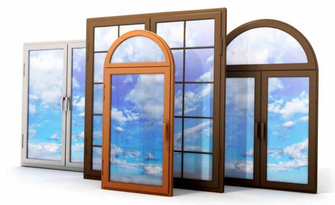 окна из поливинилхлорида (ПВХ)