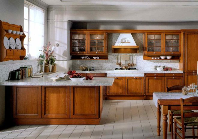 Варианты расстановки кухни