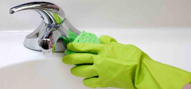 Как чистить хромированный смеситель