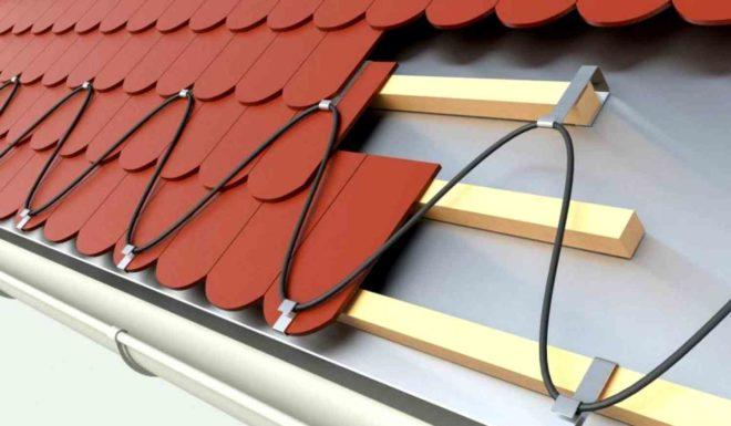 Как сделать обогрев крыши