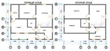 Как выбрать проект для дома из бруса