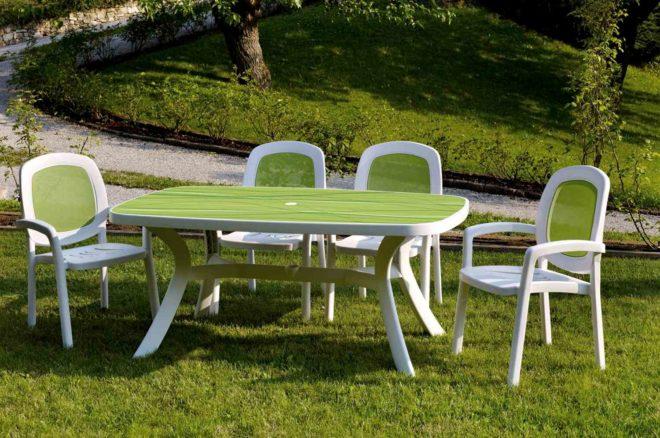 Пластиковая мебель для дома и дачи