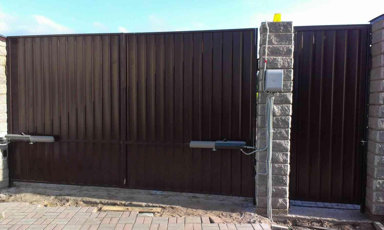 Что надо знать о распашных воротах
