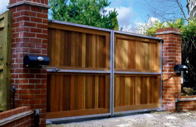 Распашные ворота и их преимущества