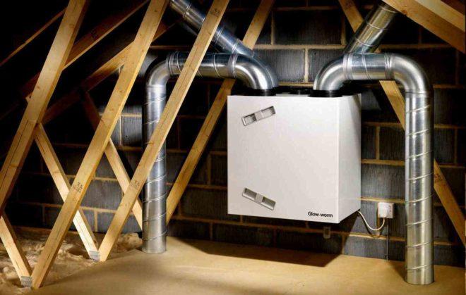Системы вентиляции для дома