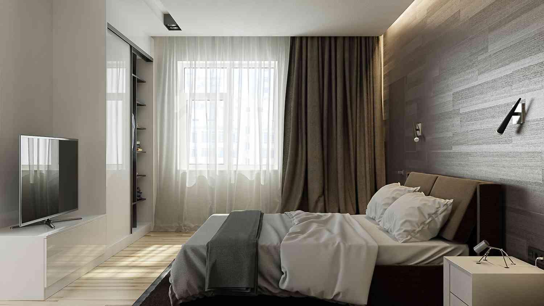 Оформление спальни в стиле Люкс