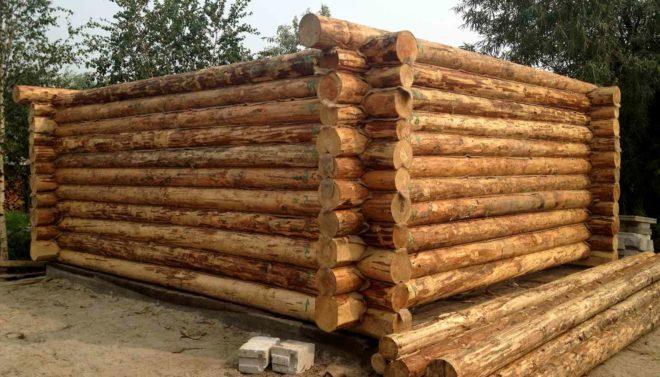 Строительство домов из рубленого бревна