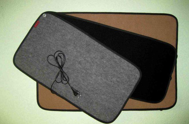 Виды и характеристики ковриков с подогревом
