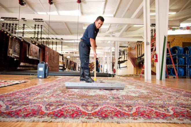 Что такое химчистка ковров