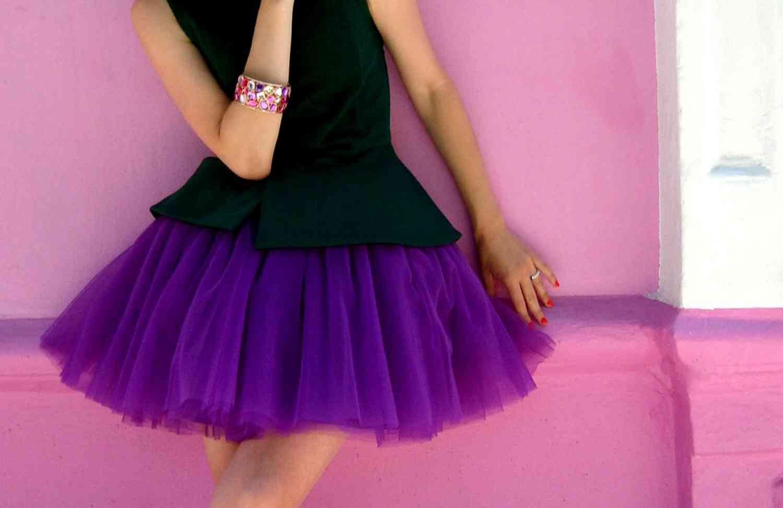 Как сделать юбку из фатина