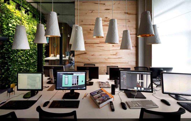 Как выбрать интерьер офиса