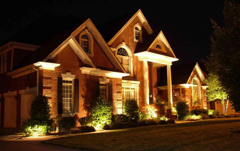 Как выбрать уличное освещение своего дома