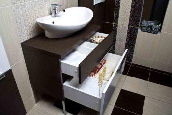 Какая мебель нужна для ванной комнаты