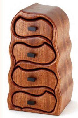 Шкатулки из дерева в необычном исполнении