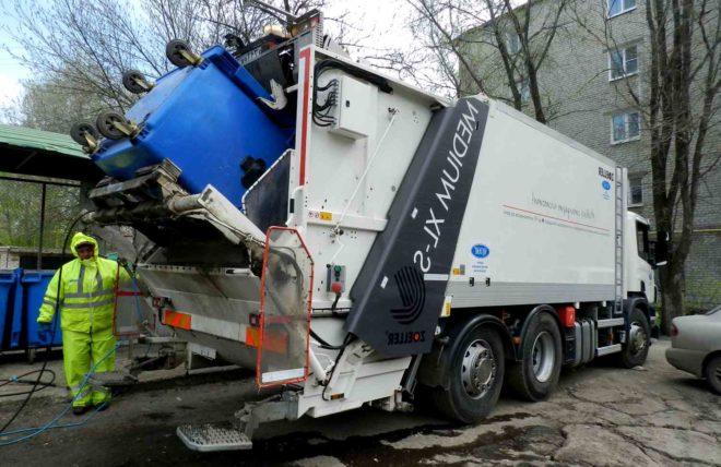 Вывоз твердо бытовых отходов