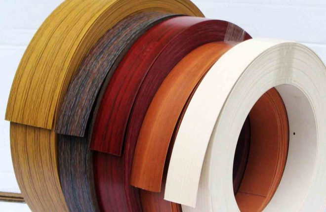 Особенности использования мебельной кромки ПВХ