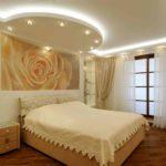Как выбрать потолок из гипсокартона в спальню