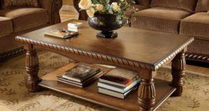 Особенности деревянного журнального стола
