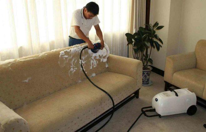 Зачем нужна химчистка мягкой мебели