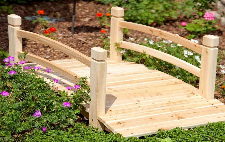 Декоративные мостики своими руками для сада 310
