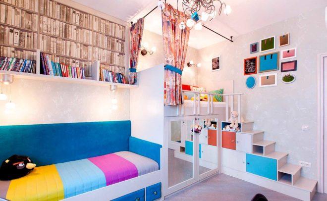 Как создать дизайн проект детской комнаты