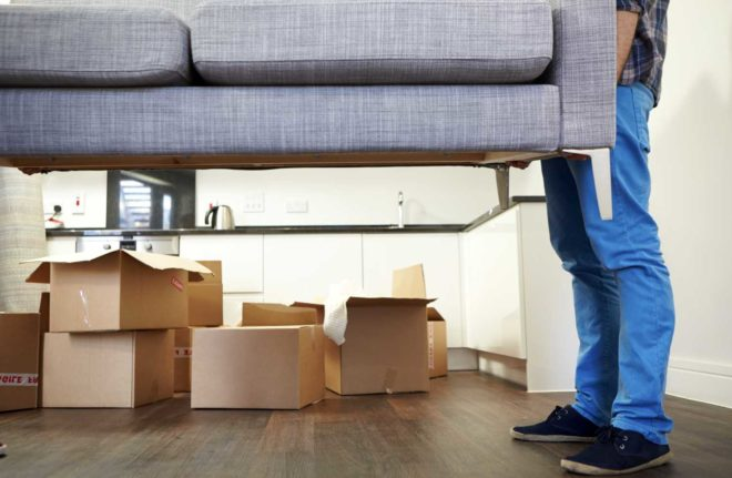 компанию для перевозки квартиры