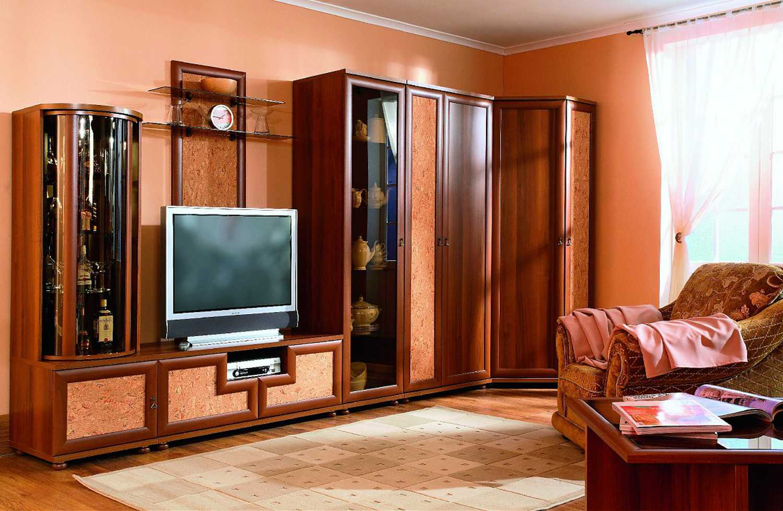 Какой шкаф будет лучше всего смотреться в гостиной