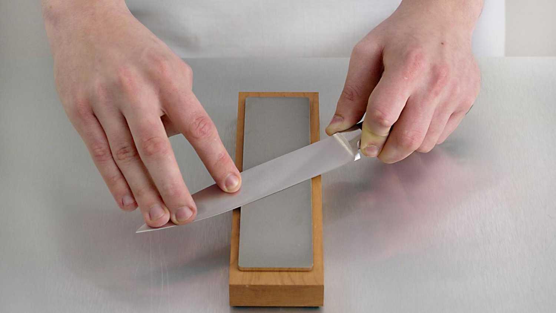 Как наточить нож в домашних условиях. - Доктор Лом. Первая 49