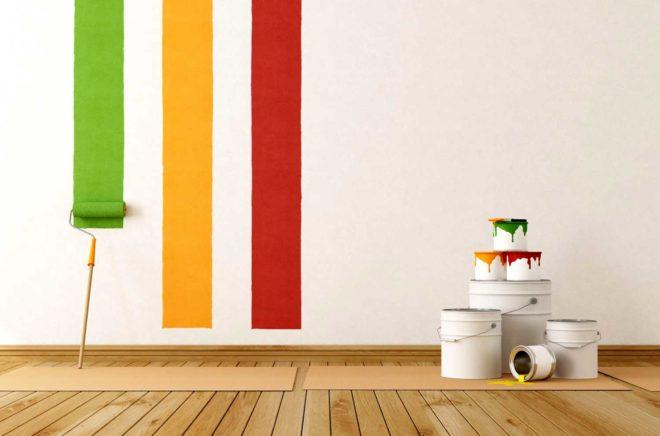 Какую краску выбрать для стен