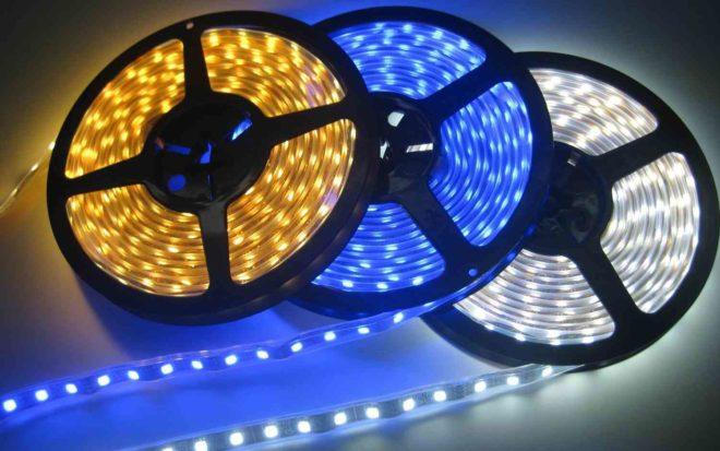 Светодиодная лента – достижение на рынке светотехники