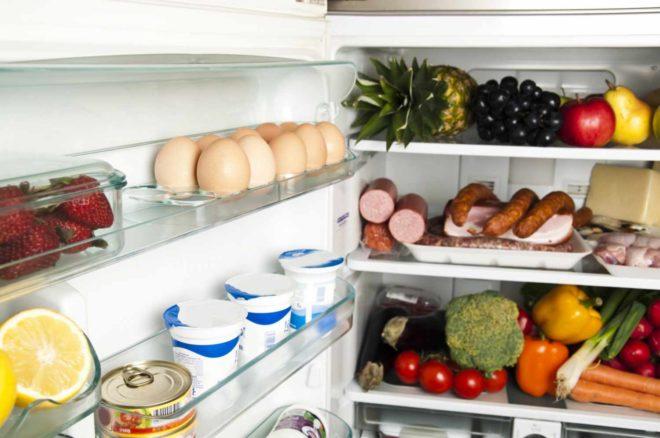 Cроки хранения продуктов в холодильнике таблица санпин