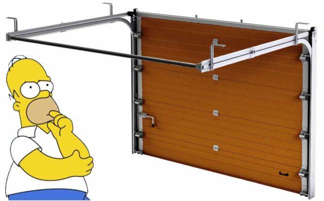 Как правильно выбрать секционные ворота