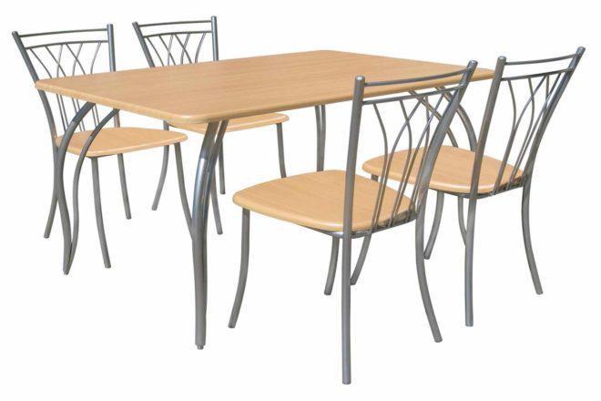 металлические стулья для кухни (5)
