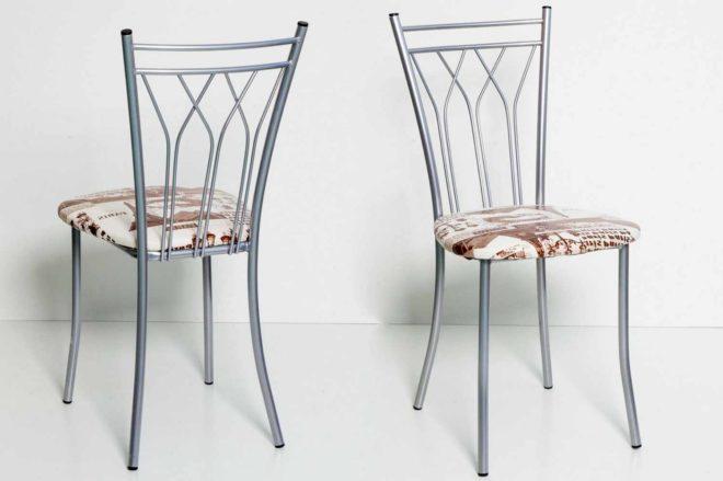 металлические стулья для кухни (4)