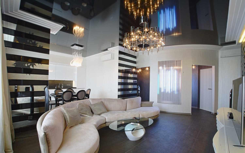 Почему стоит выбрать натяжные потолки для своей квартиры
