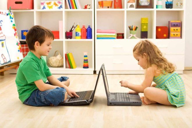 Обучающие компьютерные игры для детей 1